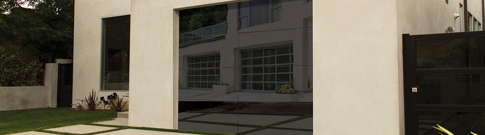 Aluminum Glass Garage Doors 8450 From Precision Door