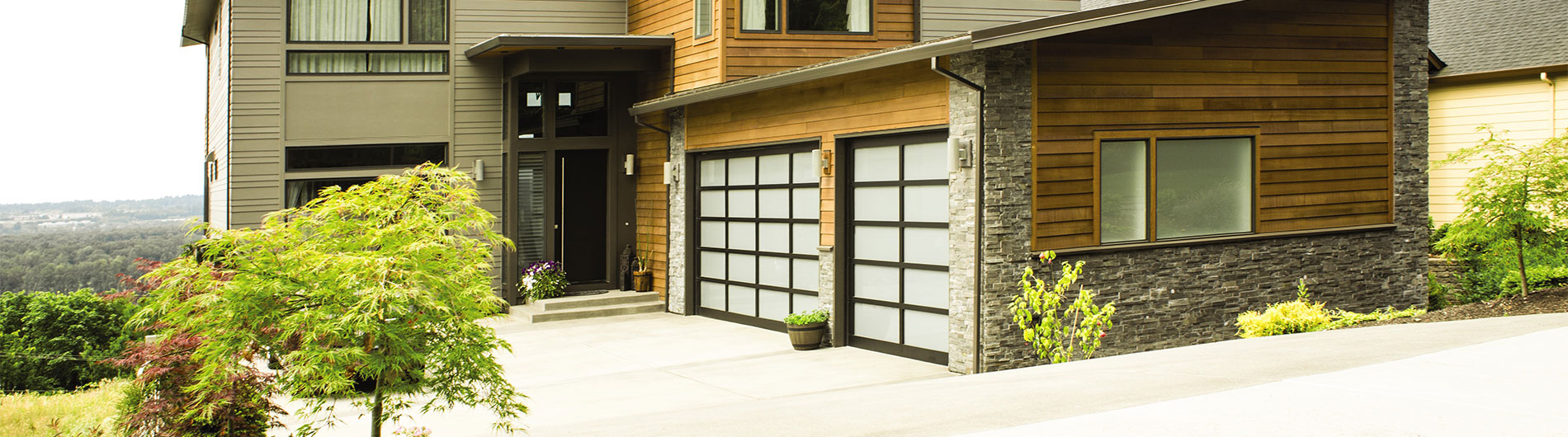 Aluminum Glass Garage Doors 8800 From Precision Door