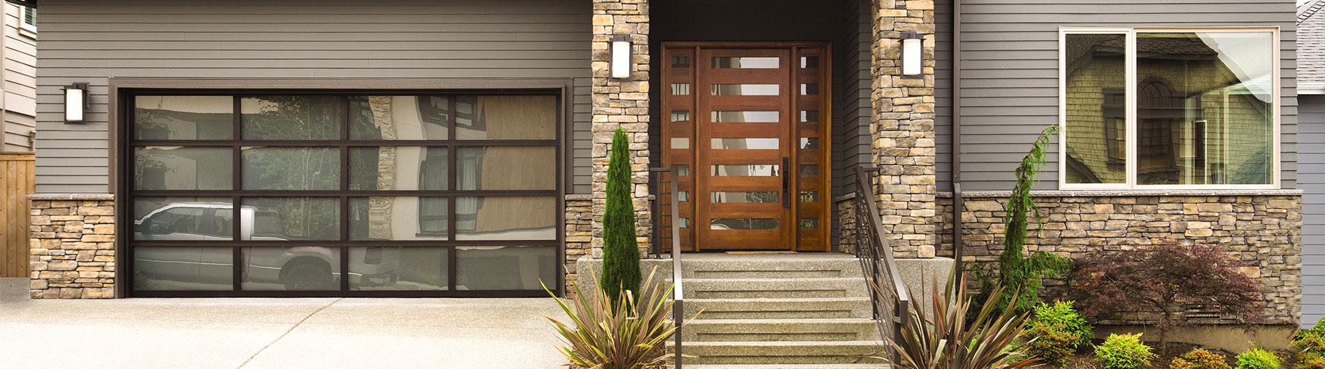 Aluminum Glass Garage Doors 8800 From Precision Door